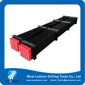 Wholesale mud treatment equipment: One-piece Forged Drill Pipe Rod for HDD Horizontal Directional Drilling Rig Machine
