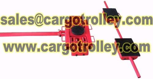 Sell Roller skids lenght description