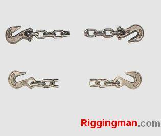 Sell RIGGING LASHING CHAIN WITH CLEVIS/EYE GRAB HOOKS