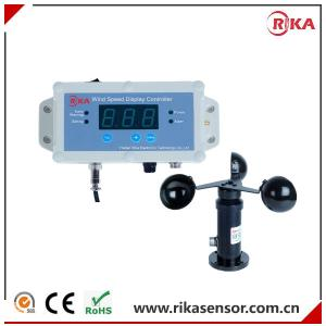 Wholesale speed sensor: RK150-01 Wired or Wireless Crane Used Wind Speed Sensor and Alarm Controller