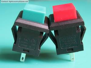 Wholesale Push Button Switches: P13 Series Push Button Switch with UL VDE ENEC