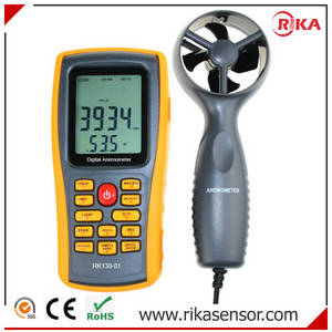 Wholesale cup anemometer: Digital Handheld Rotating Wind Speed Rotary Cup Type Anemometer