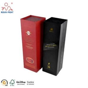 Wholesale luxury wine gift box: Wholesale Custom Rigid Cardboard Magnetic Cheap Wine Packaging Luxury Wine Gift Box