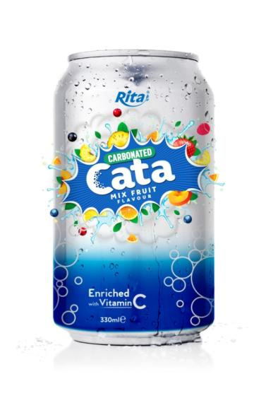 Sell 330ml Carbonated Natural Mix Fruit Flavor Drink from RITA beverages
