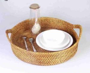 Wholesale vietnam handicrafts: Rattan Basket
