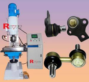 Wholesale car tool: Steering Ball PIN Riveting Machine XM20-PLC,Rolling Machine