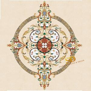 Wholesale china manufacturer: China Manufacturer Waterjet Marble Medallion for New Home Floor Decor