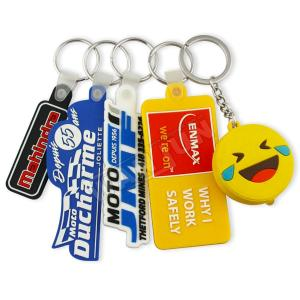 Wholesale lanyards: Wholesale Popurlar Cute Keychain Eco-friendly PVC Keychain Lanyard Keychain