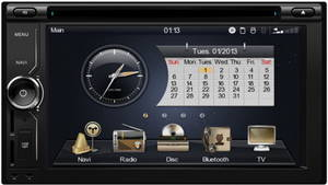Wholesale car dvd player: Double Din Car DVD Player