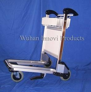 Wholesale aluminum trolley: Aluminum Airport Trolley with Flowback Handle