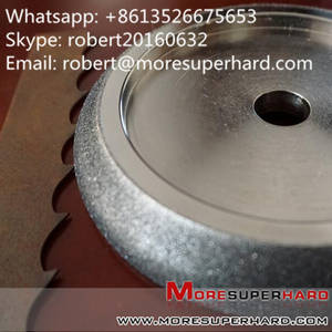 Wholesale cbn wheel: Electroplated CBN Grinding Wheel for Band Saw Blade