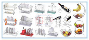Wholesale Cup & Tumbler Holders: Kitchen Dish Rack Plate Dry Rack Dish Drainer Cup Holder Mug Tree Rack Wine Bottle Rack Holder