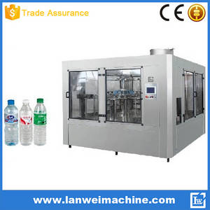 Wholesale beverage dispensers: 5000-6000bph PET Small Bottle Water Filling Machine/Water Bottling Machine