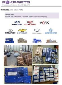 Wholesale genuine daewoo spare parts: Genuine Korean Spare Auto Parts