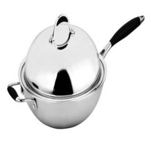 Wholesale handle wok: Premium  Stainless Steel Wok with Lid and Long Handle