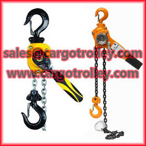 Wholesale lever hoist: Lever Chain Hoist Advantages and Details