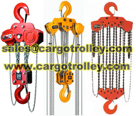 Sell Chain pulley blocks introduce