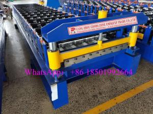 Wholesale metal roofing sheet: 750 Rib Type Steel Metal Roofing Sheet Forming Machine