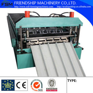 Wholesale color steel machine: Color Steel Roof Roll Forming Machine