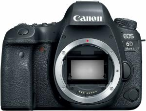 Wholesale Digital Cameras: Canon EOS 6D Mark II 26.2MP Digital SLR Camera - Black