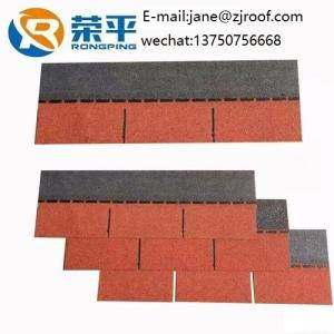 Wholesale bitumen shingle: 3 Tab Shingles