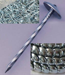 Wholesale Nails: Hot Dipped Galvanized Roofing Nails