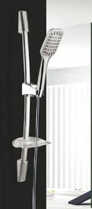 Wholesale Bathroom & Kitchen Fixtures & Fittings: Shower Sliding Bar with One Spa Function Square Hand Shower Head
