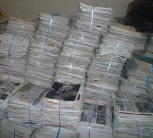 Wholesale waste newsprint: Over Issued Newspaper OINP / ONP Waste Papers