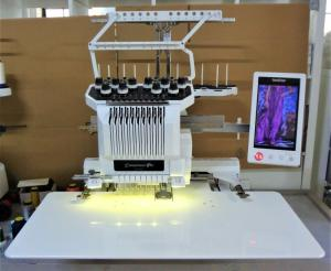 Wholesale cap embroidery machine: Brother PR1000e Embroidery Machine