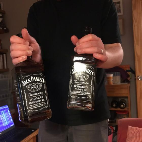 Jack. /Daniels.. Bourbon Whisky Very Affordable