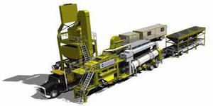 Wholesale mobile asphalt mixing plant: Mobile Asphalt Plant 60