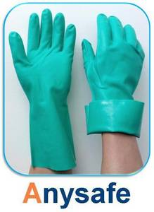 Wholesale Safety Gloves: Green Nitrile Gloves