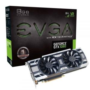 Wholesale dvi monitor: Evga Nvidia Geforce Gtx 1080 Gaming 8gb Gddr5x Dvi/Hdmi/3displayport PCI-express Video Card W/ Icx -