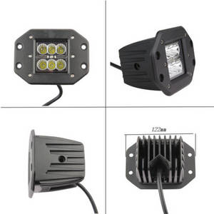 Wholesale japanese used crane: 4W LED Work Light Flood Beam Offroad Lamp 4WD 4X4 ATV SUV Car Truck Offroad Working Driving Lamp
