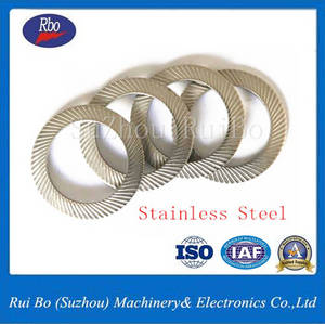 Wholesale lock: Carbon Steel DIN9250 Double Side Knurl Lock Washer with ISO