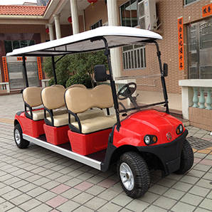 Wholesale golf cart rear view: Electric Golf Cart AC System Standard Configuration