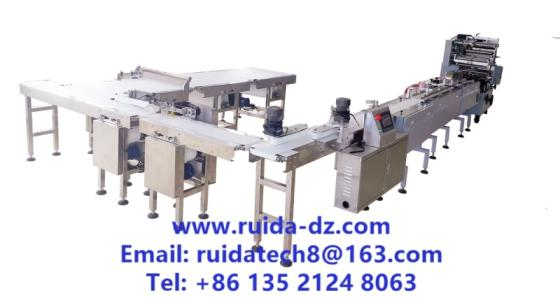 Sell Automatic Intelligent Sachima/Snacks/Food Feeding Packing Line