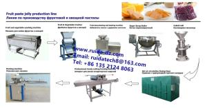 Wholesale vegetable processing equipment: Fruit & Vegetable Processing Machinery in Fruit Vegetable Paste Jelly Candy Production Line