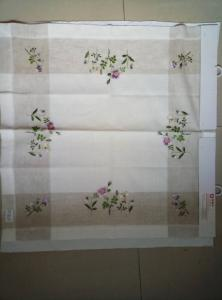 Wholesale Table Cloth: Embroidery Table Cloth/Table Linen