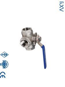 Wholesale 3 way valve: Threaded 3 Way Ball Valve