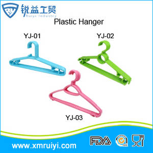 Wholesale Laundry Products: Hot Sale Cheap Plastic PP Coat Hanger with Differen Style