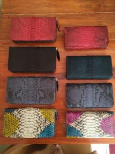 Wholesale leather wallet: Wallets and Purses of Reptile Leather