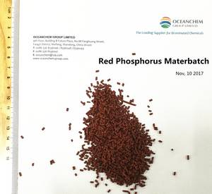 Wholesale plastic masterbatch granule: Red Phosphorus Flame Retardant Masterbatch