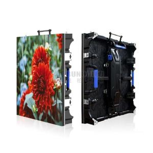 Wholesale led screen: Outdoor Curve Rental LED Wall with 500*500mm Cabinet P3.91 DH Resolution Screen Wall