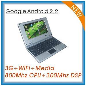 Wholesale android 2.2: 7inch Android 2.2 Laptop (RL701)