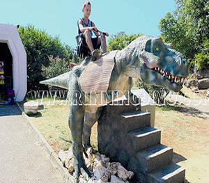 Wholesale amusement rides: Dino Park Amusement Dinosaur Ride for Kids