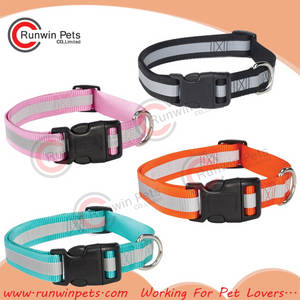 Wholesale led dog collar: Reflective Dog Collar