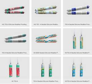 Wholesale insulating glass silicone sealant: GP Silicone Sealant