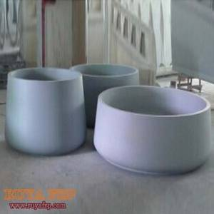 Wholesale decorative bowls: RUYA Group Planters,Fiberglass Oval Flowerpots,Home Decorative Bowl