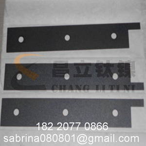 Wholesale platinized titanium anode: Titanium Anode with Various Shapes and Specifications